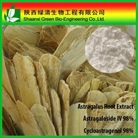 High purity astragalus root extract Cycloastragenol/Astragaloside iv 98% HPLC