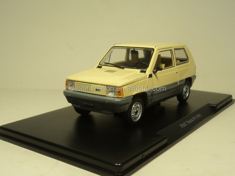 custom made 1/24 FIAT panda 30 die cast custom model car factory