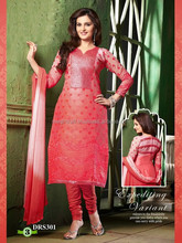 Gorgeous Salwar kameez -Punjabi dress material-wholesale chiffon dress material-party wear dress material