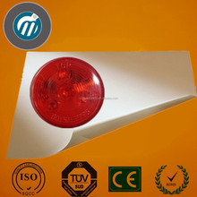 Arrival in market 2 inch round truck trailer led tail light with service