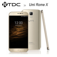 Original Umi Rome X Mobile Phone MTK6580 Quad Core 5.5inch Android 5.1 1GB RAM 8GB ROM 1280x720 13.0MP WCDMA Dual SIM