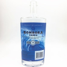 750ml empty wine bottles vodka glass liquor bottle with screw top wholesale