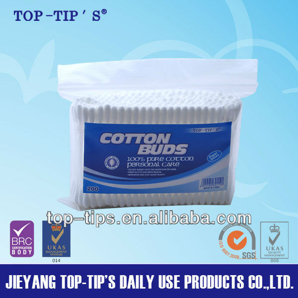 Ear cleaning plastic stick Cotton Buds