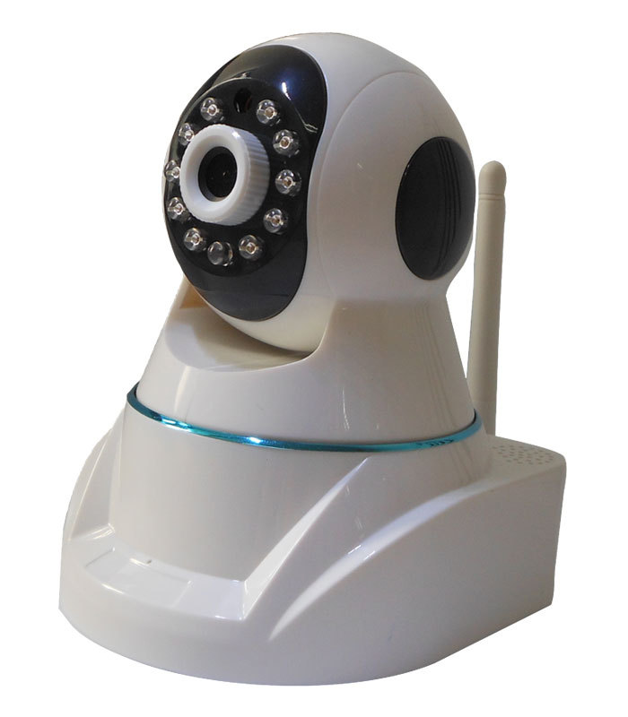 Robot Type IR Night Vision HD 720P Cloud Storage PTZ P2P WIFI IP Home Security Camera