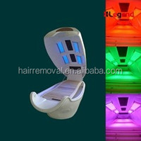 Infrared Steam shower cabin spa capsule with LED light (green/blue/red/yellow)