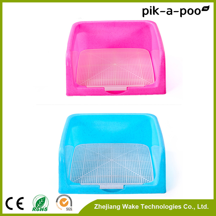 Hot Sales Plastic Training Pet Indoor Dog Pet Tray Plastic Flat Portable Toilet For Male Dog Sale