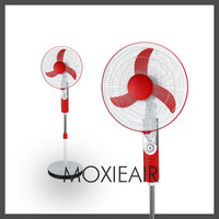 high rpm 12v rechargeable dc stand fan