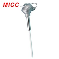 MICC SS316 MI cable and KNE head K type Probe Thermocouple