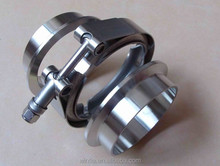 Stainless Steel Turbo Exhaust V Band Clamp with Flange