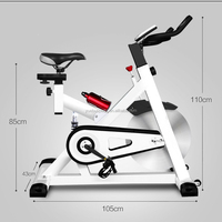 Gym Fitness Home Use Indoor Cycling racing exercise spin bike for Weight Lose YB-QS1