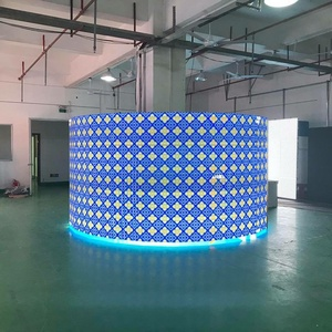 CE ROHS UL large commercial advertising outdoor IP65 1920HZ Customized Size digital led display manufacturer