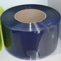 Colorful Transparent Soft PVC Curtain Sheet / Roll / Mat