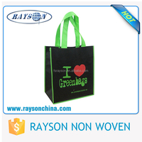 Trade Show Display Heavy Duty Fabric Gift Bags Wholesale for Shopping