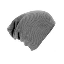Unisex cotton spandex baggy beanie fashionable jersey slouchy beanie