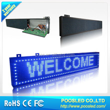 led semi outdoor electronic rolling display