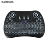 T2 Backlit 2.4G Wireless BT Gyro Air Mouse keyboard with Touchpad for smart tv android box