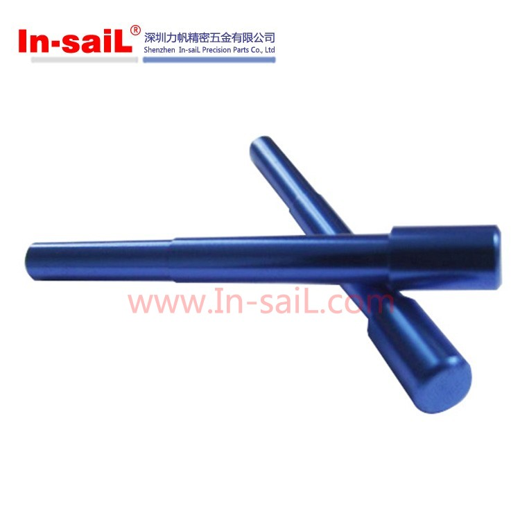 Made in China customized aluminium anodizing round straight metal cylindrical pins manufacturer