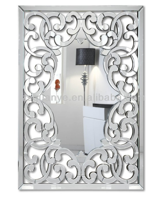 contemporary elegant salon mirrors