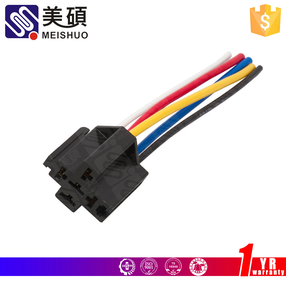 Auto Relay socket with 5 wires