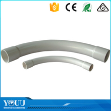 YOUU Various Sizes Smooth Surface White Pipe Elbow Long Sweep Bends