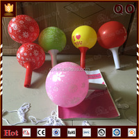 Various color elastic customized printable 18 inch latex balloons