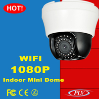 1080P 4X zoom ipcam ptz wifi ptz indoor dome 2p2 wireless 2mp ip camera with 2.8-12mm motorized zoom lens