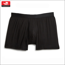 Factory OEM High Quality Pure Color Loose Style Cotton Men Underwear Boxer