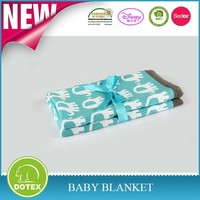 2016 Hot Sale Free Sample Available Can Be Portable Handmade Yam Dyde Baby Blankets Cotton Baby Blanket softextile blanket