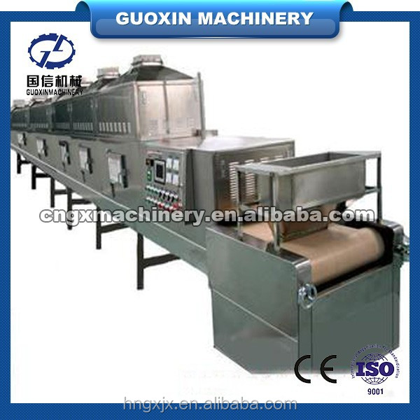 High frequency heating and sterilizing honeysuckle microwave dryer