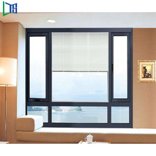 LYS Aluminium casement window/aluminum glass panel window,Single Glazing Aluminum Louvers with Australian Standard Glass
