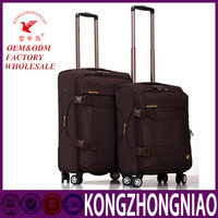 KZN Z18 Best price fashion design suitcase business travel trolley luggage