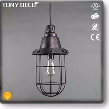 BAA60444 Cheapest Geometric Cage Metal Thai Ceiling Lamp Light