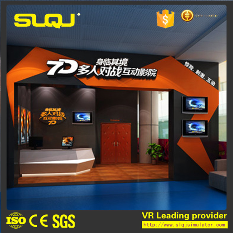 Special effects amusement interactive vr 5d cinema equipment