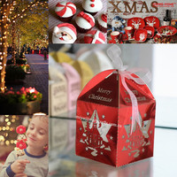 christmas ball packaging box with free custom names &logo