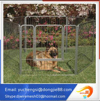 Large outdoor 7.5x13x6 feet galvanized chain link dog cage/dog kennel wholesale