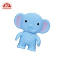 Squeaky vinyl soft elephant toy