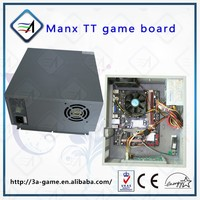 Video Mother Game Board For MANX Super Bike TT Motor Simulator Racing Machine