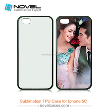 Sublimation Cell Phone Rubber Case for iPhone 5C