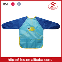 Factory price waterproof smock for children
