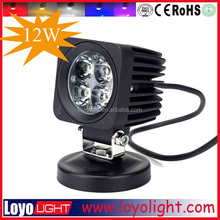 forklift led work lamp 60 degree flood beam for heavy machine inspect 4wd driving spot lights 4x4