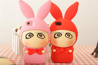 Factory Stock Supply 3D Cute Soft Animal Silicone Case For Xiaomi Cell Phone Cover