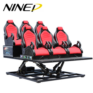 Low Investment High Profit 5D 7D Game Simulator Real Feeling Electric / Hydraulic 5D Film Simulator