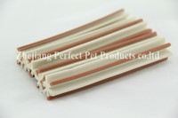 dried penis(two-tone straight hexagonal natural dog chews)