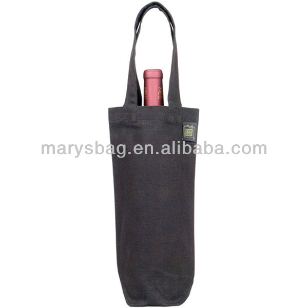 100% Recycled Cotton Rustic Wine bag