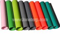 18oz PVC Coated Tarpaulin Waterproof Fabric For Truck Cover