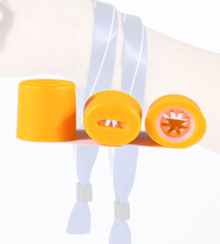 Festival bracelet disposable closure lock plastic snap buckle