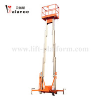 Double Mast Man Lift For Sale
