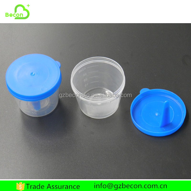 Wholesale Laboratory 60ml Urine Specimen Collection Container