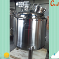 Industrial mixing stainless steel tanks for mixture of corn grits and water