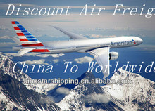 internatioal air freight shipping Uniqlo clothing from China to Britain